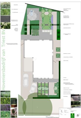 Onderhoudsarme tuin ontwerpen en aanleggen for Eigen moestuin ontwerpen en aanleggen